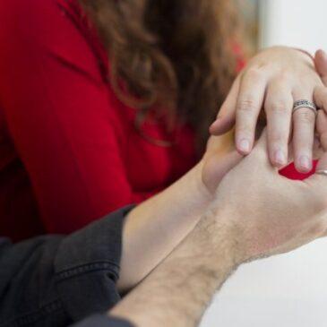 Comment se porte une bague solitaire au doigt?